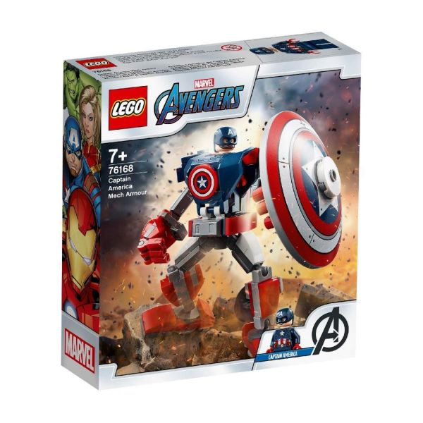LEGO 76168 - Marvel Super Heroes™ - Captain America Mech