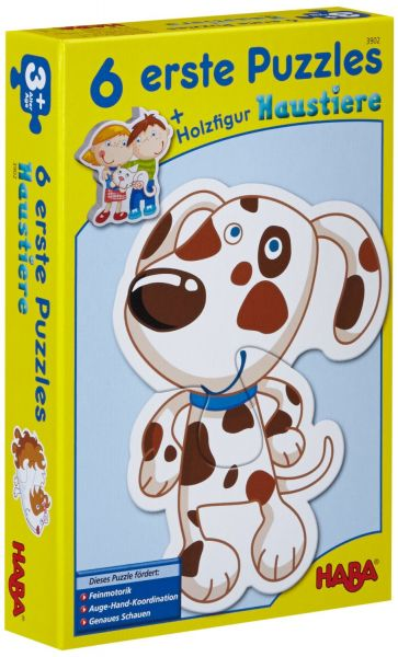 Haba 3902 - Erste Puzzle - Haustiere