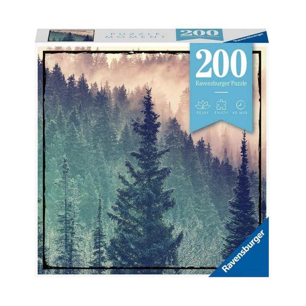 RAVENSBURGER 12958 - Erwachsenenpuzzle - Wood Wald, 200 Teile