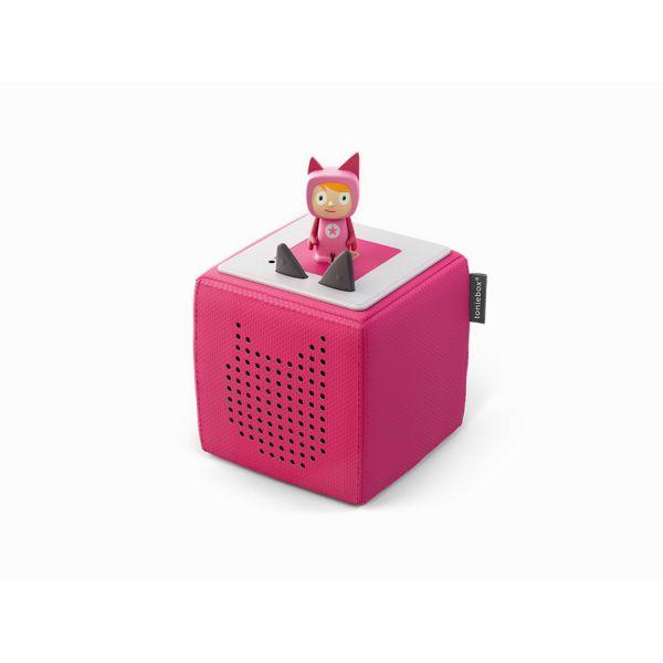 TONIES 30014 - Toniebox - Starterset Pink mit Kreativ-Tonie