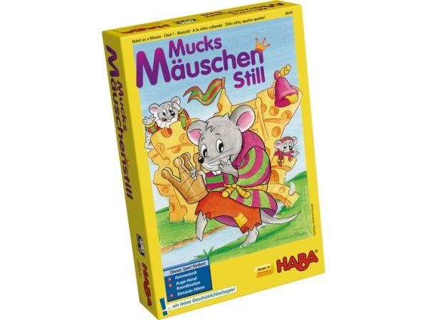 HABA 4644 - Mitbringspiel - Mucksmäuschenstill
