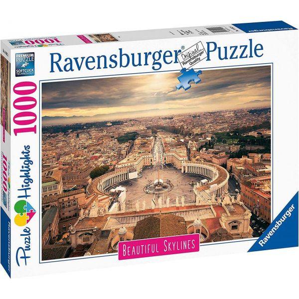 RAVENSBURGER 14082 - Puzzle - Rom, 1000 Teile