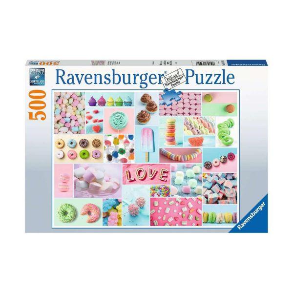 RAVENSBURGER 16592 - Puzzle - Süße Verführung, 500 Teile