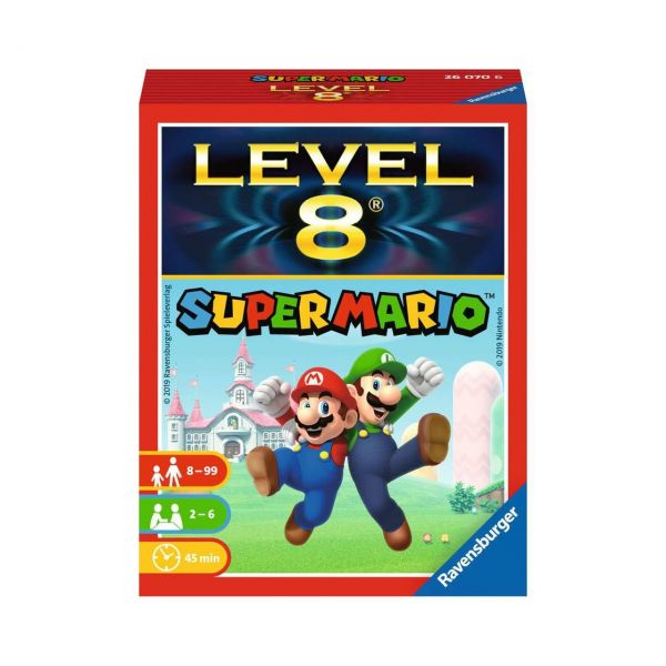 RAVENSBURGER 26070 - Kartenspiel - Super Mario™ Level 8®
