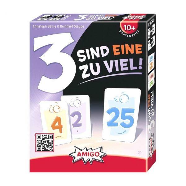 AMIGO 05963 - Kartenspiele - 3 sind eine zu viel!