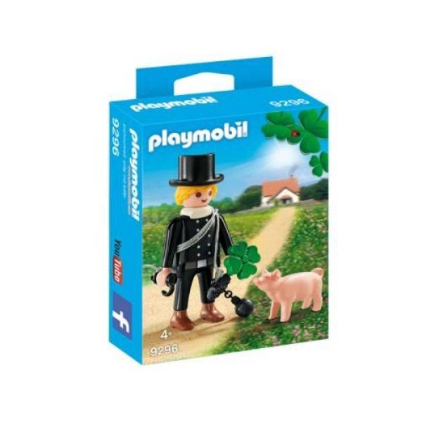 PLAYMOBIL 9296 - Special Plus - Schornsteinfeger mit Glücksschweinchen