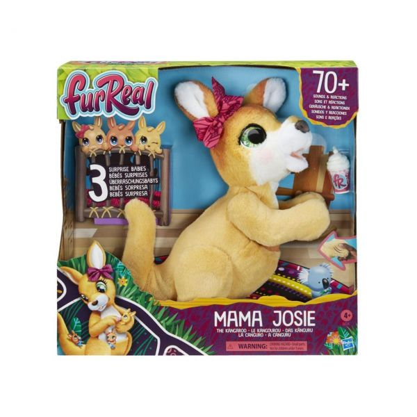HASBRO E6724 - FurReal - Mama Josie, das Känguru