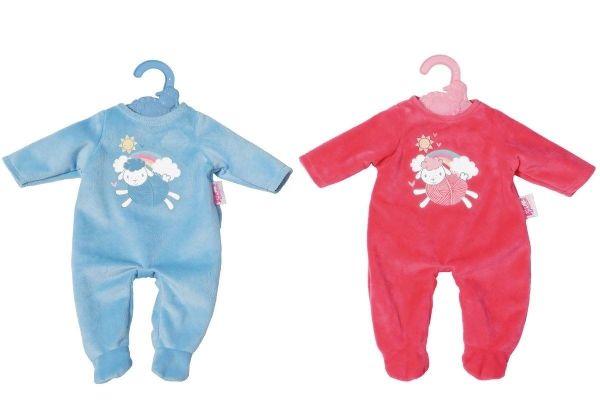 Zapf Creation 702420 - Baby Annabell® Kleidung & Zubehör - Kleiner Strampler, 36cm, 2-fach sortiert
