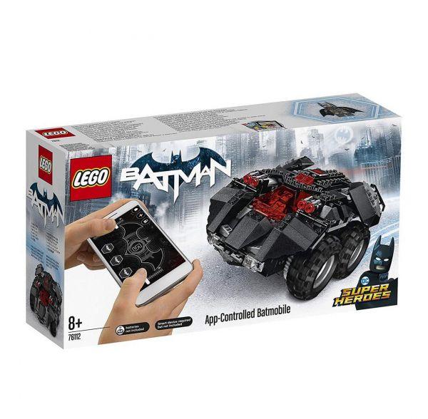 LEGO 76112 - DC Super Heroes - Batman: App-Gesteuertes Batmobile