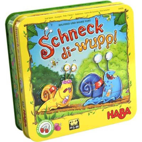 HABA 304026 - Kinderspiel - Schneck-di-wupp