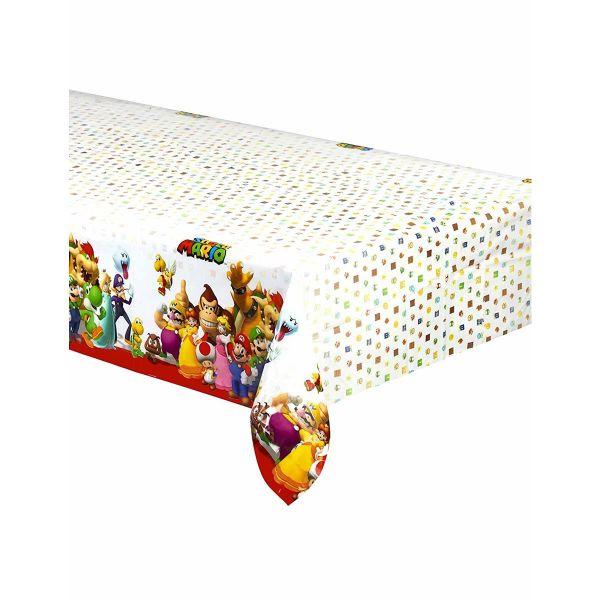 AMSCAN 9901539 - Geburtstag & Party - Tischdecke Super Mario, 120x180cm