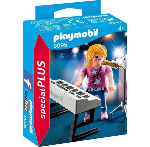 PLAYMOBIL 9095 - Special Plus - Sängerin am Keyboard