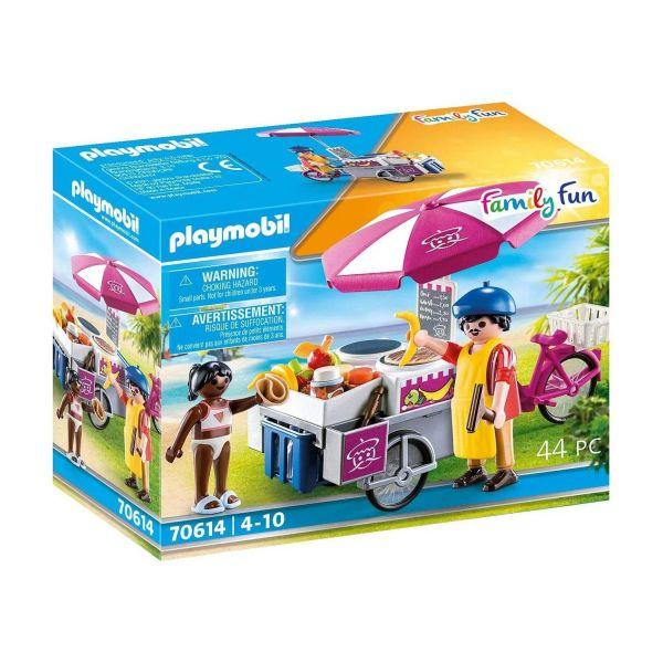 PLAYMOBIL 70614 - Family Fun - Mobiler Crêpes-Verkauf