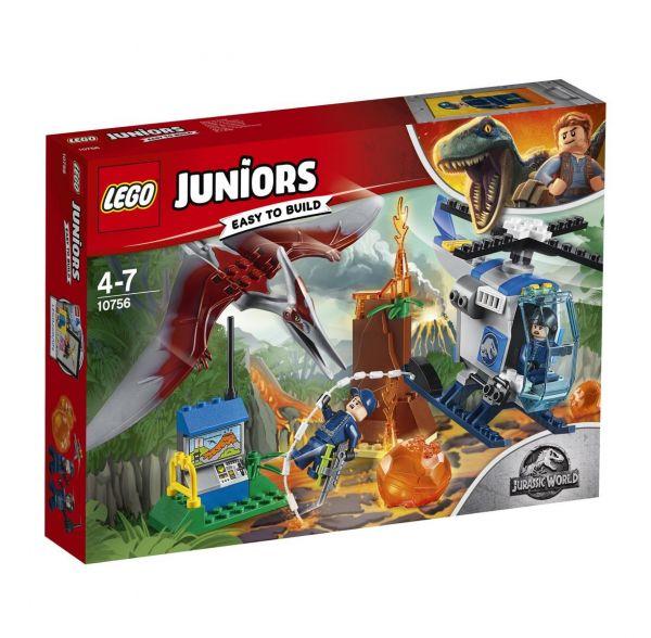 LEGO 10756 - Juniors - Jurassic World Flucht vor dem Pteranodon