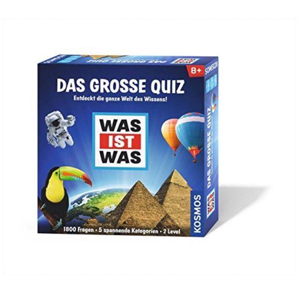 KOSMOS 697891 - Familienspiel - Was ist Was, Das große Quiz