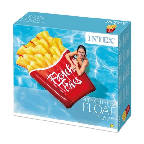 INTEX 58775EU - Luftmatratze - Pommes Frittes French Fries, 175 x 132 cm
