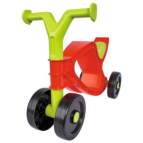 BIG 800055860 - Kinderfahrzeug - Flippi, Laufrad, Rutschrad, Rot und Grün