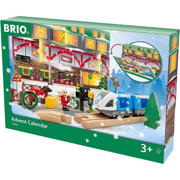 BRIO 33848 - WORLD - Adventskalender Zug Holz-Eisenbahn 2020