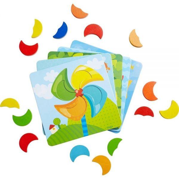 HABA 303710 - Zuordnungspiel - Farbenmonde