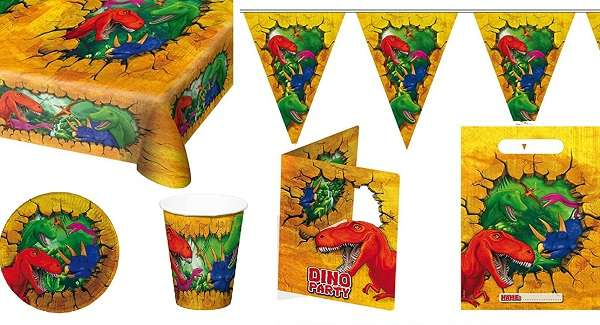 Partydeko Dinosaurier