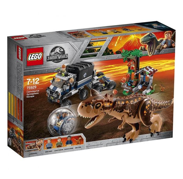 LEGO 75929 - Jurassic World - Carnotaurus - Flucht in der Gyrosphere