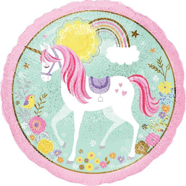 AMSCAN 3685201 - Folienballon - Magical Unicorn