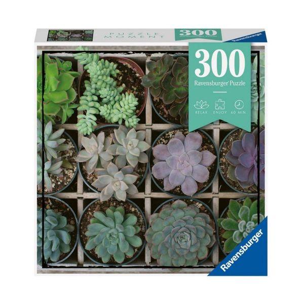 RAVENSBURGER 12967 - Erwachsenenpuzzle - Pflanzen Green, 300 Teile