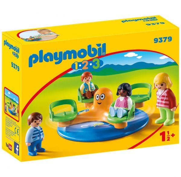 PLAYMOBIL 9379 - 1.2.3 - Kinderkarusell