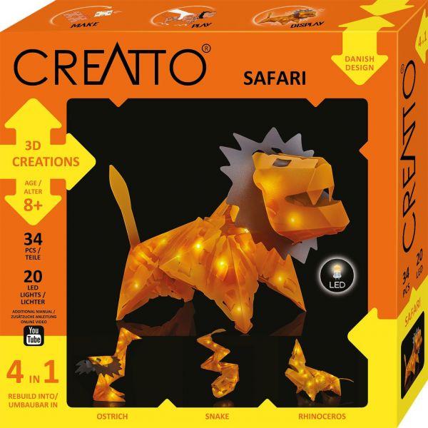 KOSMOS 003553 - CREATTO - Löwe, Safari