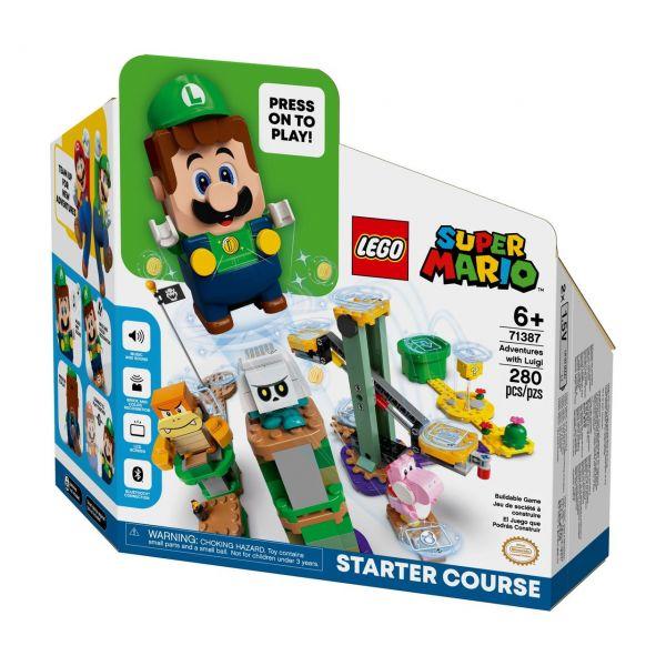 LEGO 71387 - Super Mario - Abenteuer mit Luigi, Starterset