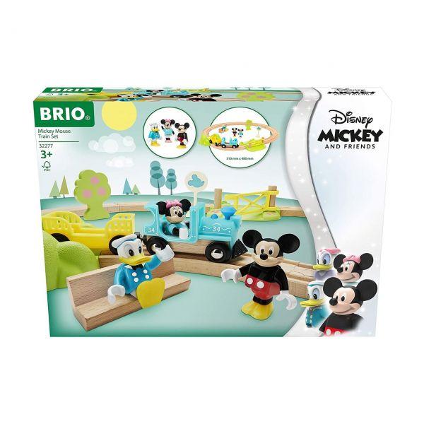BRIO 32277 - Züge - Micky Maus Eisenbahn-Set