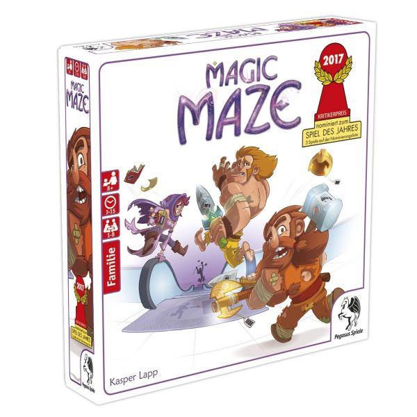 PEGASUS 57200G - Gesellschaftsspiel - Magic Maze
