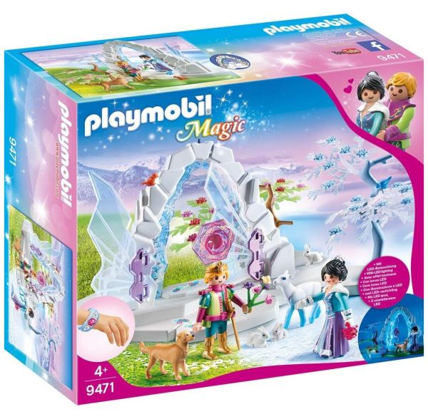 PLAYMOBIL 9471 - Magic - Kristalltor zur Winterwelt