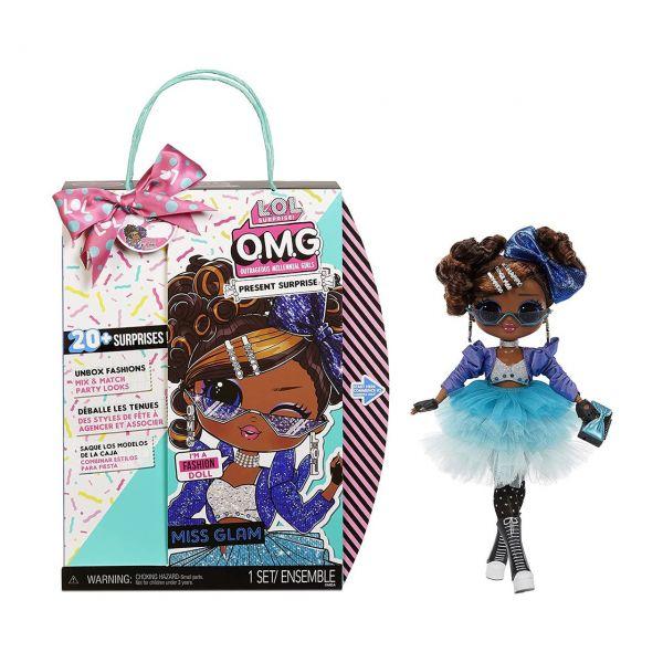 MGA 576365E7C - L.O.L. Surprise O.M.G. - Present Surprise, Miss Glam