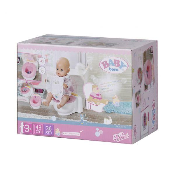 Zapf Creation 828373 - BABY born® - Bath Toilette, 43cm