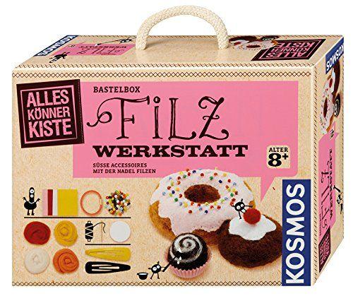 KOSMOS 604172 - Alles Könner Kiste - Filzwerkstatt