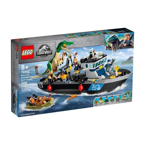 LEGO 76942 - Jurassic World™ - Flucht des Baryonyx