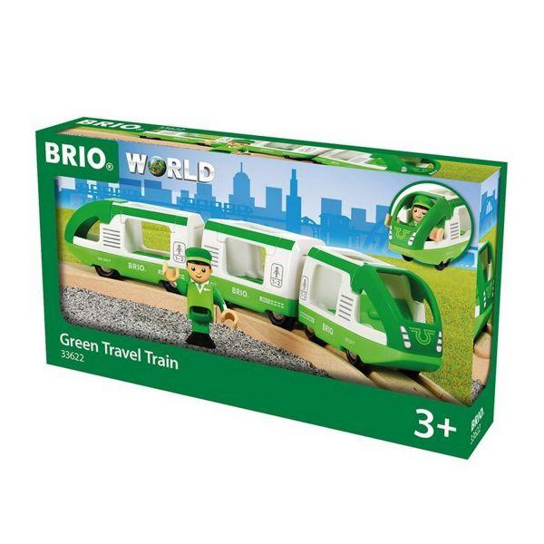 BRIO 33622 - Bahn - Grüner Reisezug