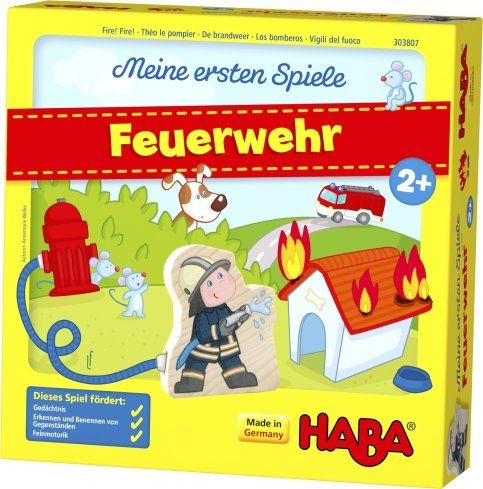 HABA 303807 - Meine ersten Spiele - Feuerwehr