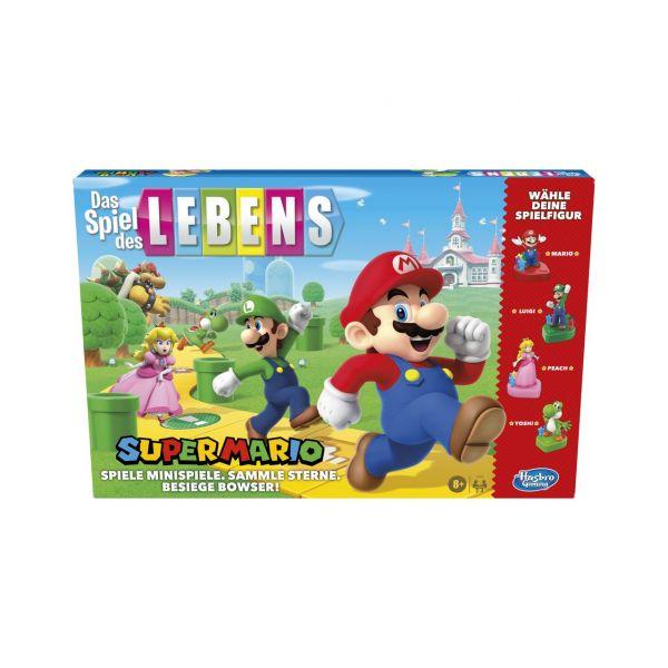 HASBRO E9488 - Gesellschaftsspiel - Das Spiel des Lebens, Super Mario