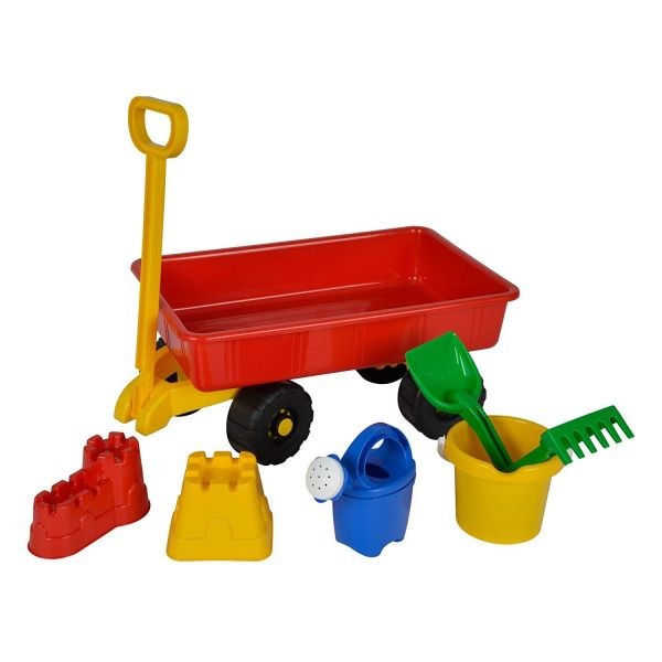 SIMBA 107130802 - Gartenspielzeug - Hand-Sandwagen