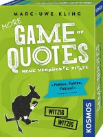 KOSMOS 693145 - Mitbringspiel - More Game of Quotes