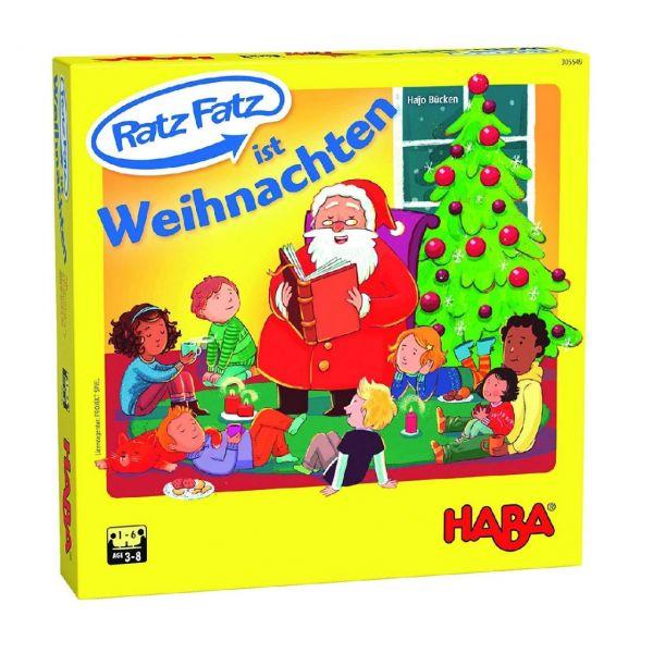 HABA 305549 - Lernspiel - Ratz Fatz ist Weihnachten