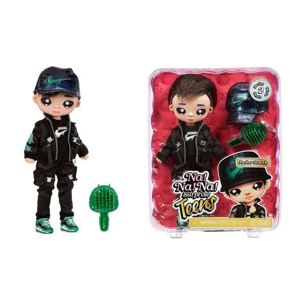 MGA 575528EUC - Na! Na! Na! Surprise - Teens Doll, Parker Scorch