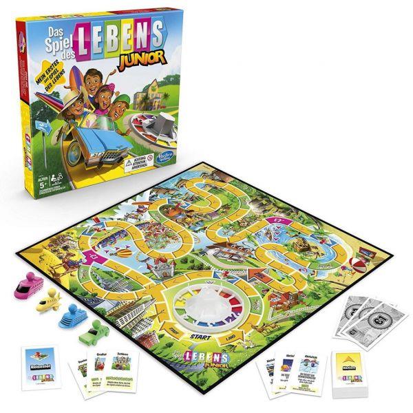 HASBRO B0654100 - Gesellschaftsspiel - Das Spiel des Lebens Junior