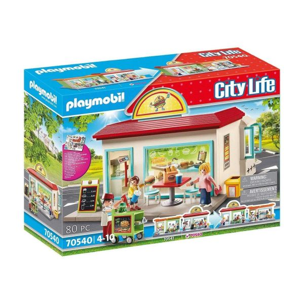 PLAYMOBIL 70540 - City Life, Meine kleine Stadt - Mein Burgerladen