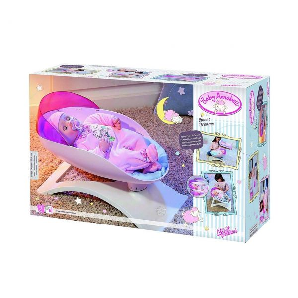 Zapf Creation 700969 - Baby Annabell® Sweet Dreams - Babyschaukel