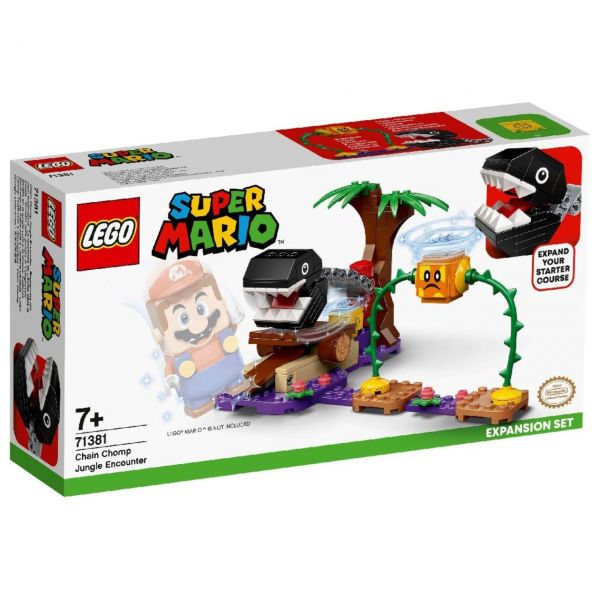 LEGO 71381 - Super Mario™ - Begegnung mit dem Kettenhund - Erweiterungsset