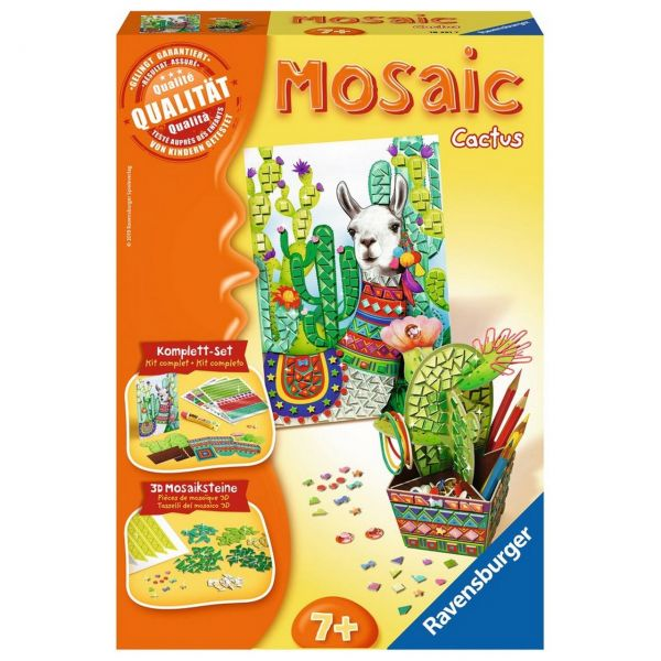 RAVENSBURGER 18351 - Mosaic Midi - Cactus
