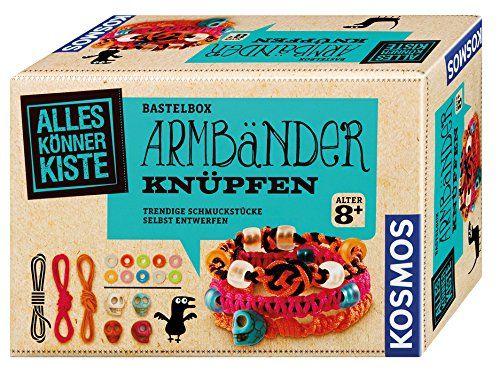 KOSMOS 604158 - Alles Könner Kiste - Armbänder knüpfen